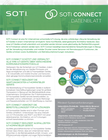 SOTI Connect Datenblatt